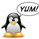 Tux-says-YUM