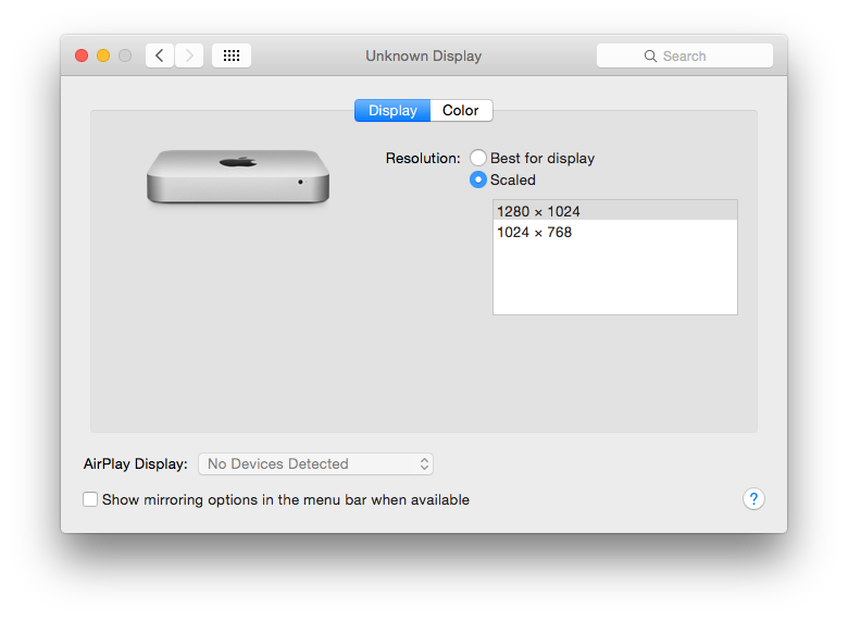 How to change the screen resolution on Remote Macs | The WP Guru