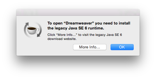 How to install Java SE 6 Runtime on Mac OS X Yosemite | The WP Guru