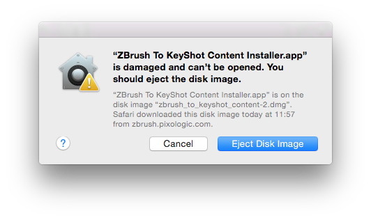 """How to fix """"This file is damaged and can't be opened"""" in Mac"""