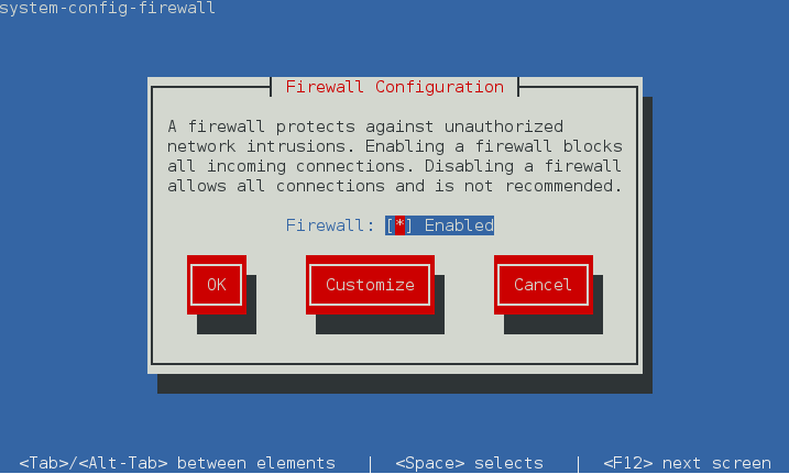 How to set firewall rules from a GUI in CentOS | The WP Guru