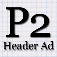 P2 Header Ad Icon