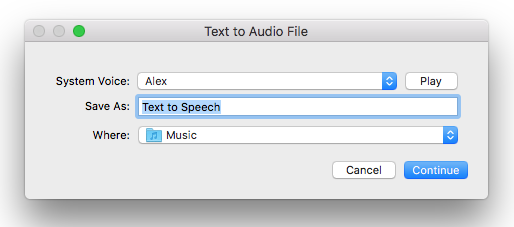How to turn text into an audio file on macOS | The WP Guru